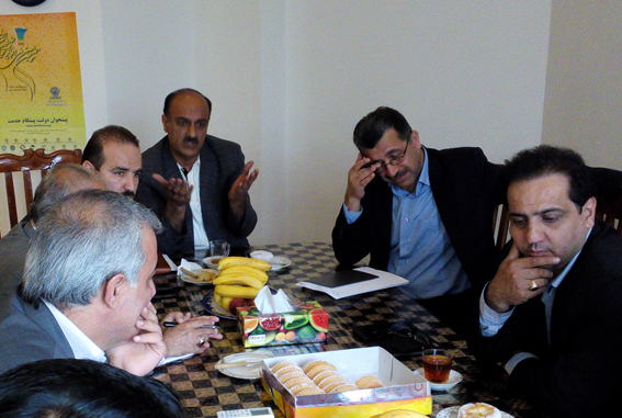 اولین جلسه کمیته بازرسی در سال 94